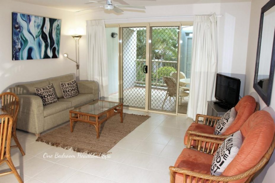 Spa apartment in lennox head
