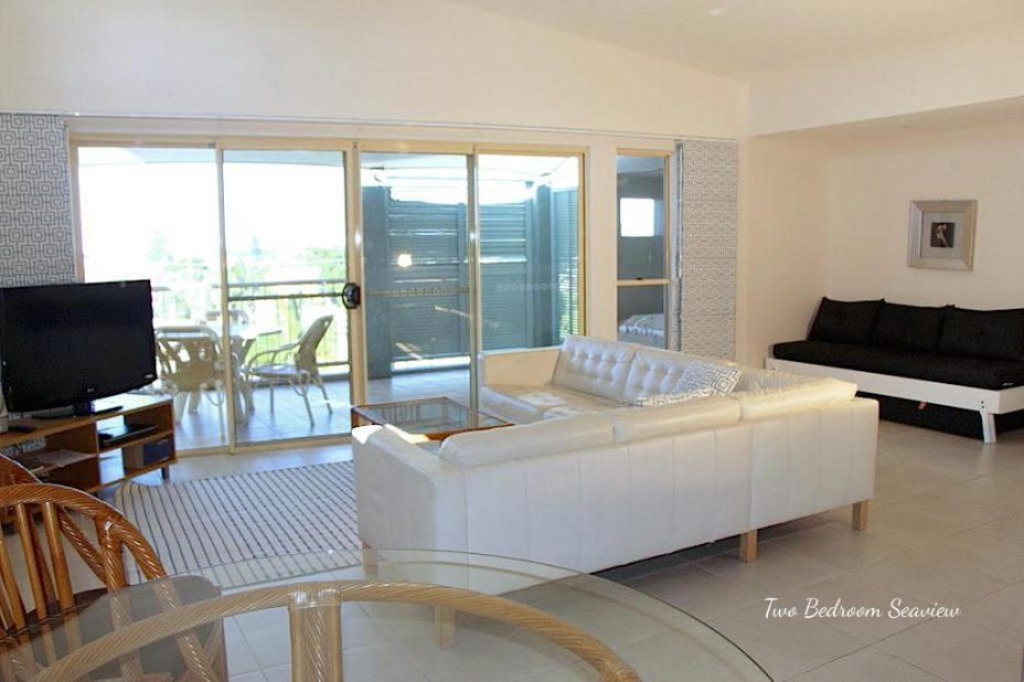 Seaview apartment in lennox head