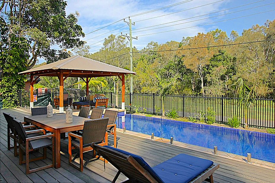 Byron Bay holiday house with pool