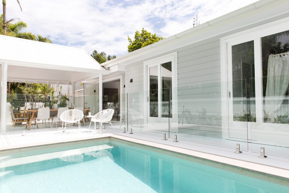 Byron Bay holiday rental with pool