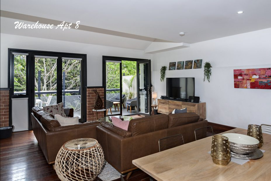 Byron Bay Apartment in the Butter Factory