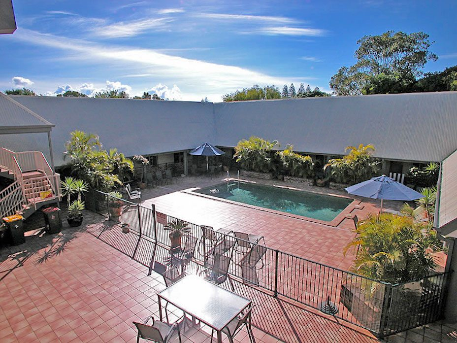 Byron Bay holiday apartment with pool