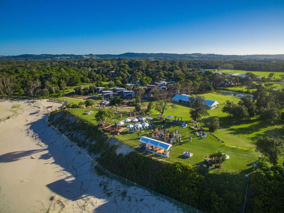 Byron Weddings Aerial