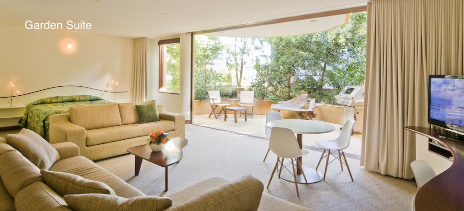 Garden suite Byron Bay