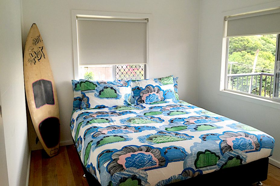 Wategos Surf Shack Bedroom