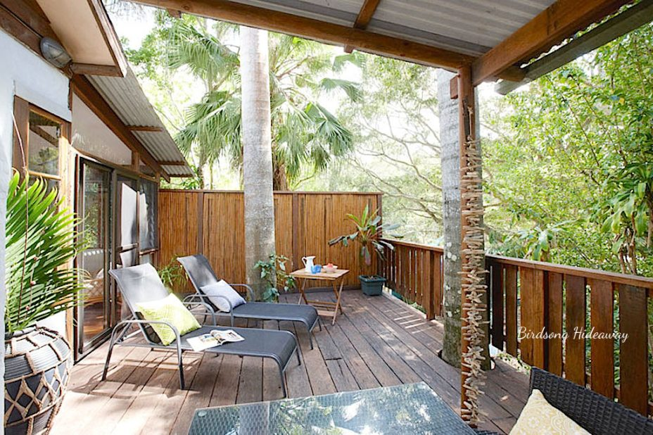 Two bedroom house in byron bay