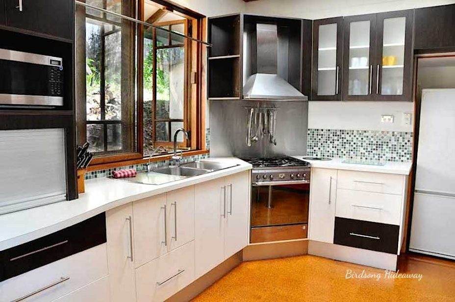 Accommodation in byron bay with kitchen