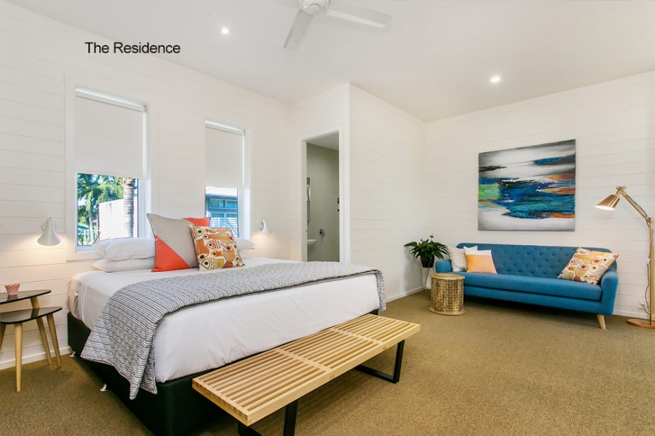 Byron Baythers Guesthouse bedroom