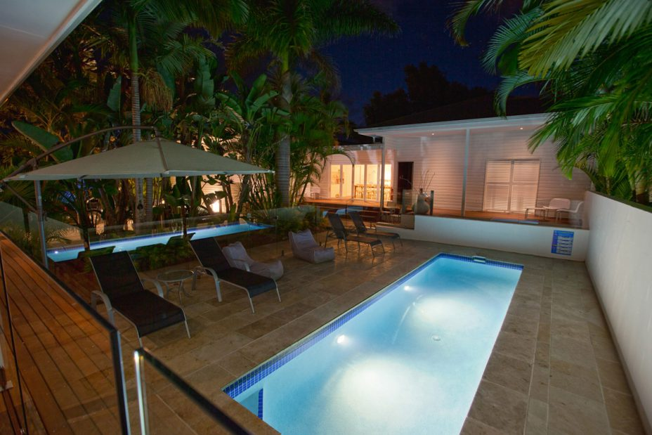 Byron Bay guesthouse with swimming pool