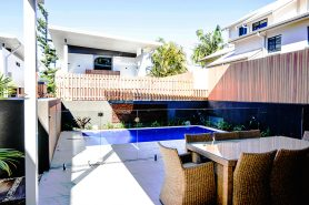Byron Bay accommodation with swimming pool
