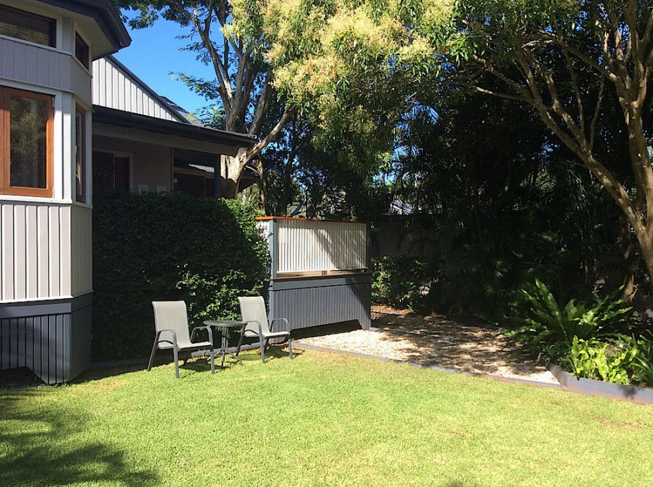 fully fenced rental byron bay